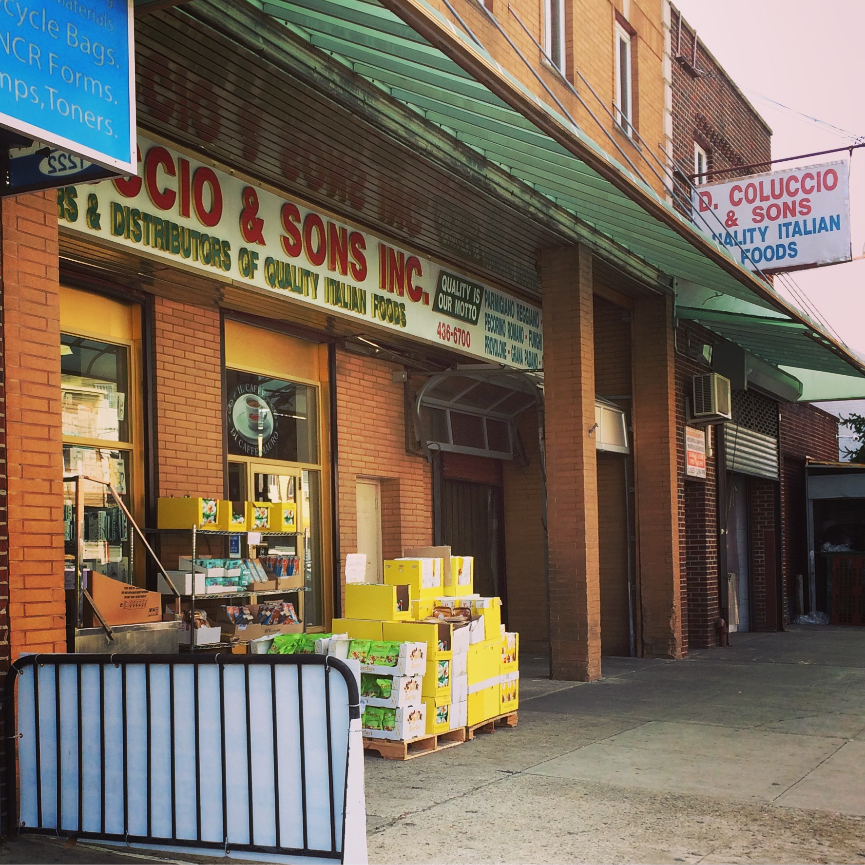 D. Coluccio & Sons storefront